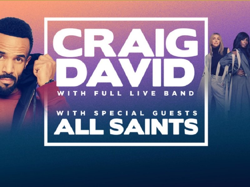 Craig David with All Saints Photo From www.star.com.au